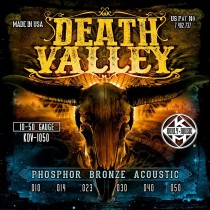 Kerly Death Valley - Phosphor Bronze Acoustic Strings - 10-50