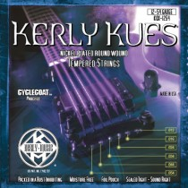 KERLY KUES ELECTRIC GUITAR STRINGS - KQX-1254 - JAZZ LIGHT