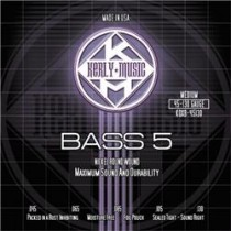 KERLY KUES - 5 STRING BASS STRINGS - KQXB-45-130 - MEDIUM