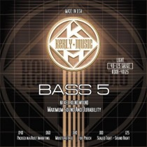 KERLY KUES - 5 STRING BASS STRINGS - KQXB-40-125 - LIGHT