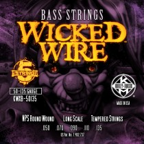 Kerly 5 String Bass Strings - Wicked Wire Series - 50-135