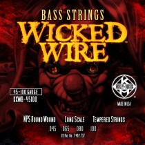 Kerly Bass Strings - Wicked Wire Series - 45-100