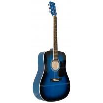 MADERA LD381 38'' ACOUSTIC KIDS GUITAR - BLUE BURST