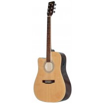 MADERA SRUCE TOP WITH PICKUP SP411 -NATURAL (LEFT HANDED)