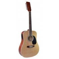 MADERA W4122CE - 12 STRING WITH PICKUP - NATURAL