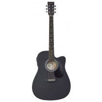 MADERA SP411CE - ELECTRO-ACOUSTIC 41'' GUITAR - BLACK SATIN