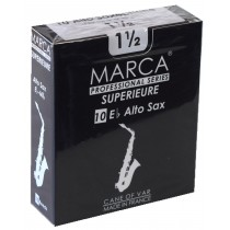 Marca Superieure - Professional Alto Saxophone Reeds (Box of 10) - 1 1/2