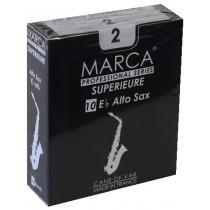 Marca Superieure - Professional Alto Saxophone Reeds (Box of 10) - 2