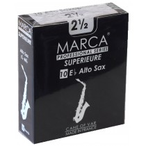 Marca Superieure - Professional Alto Saxophone Reeds (Box of 10) - 2 1/2