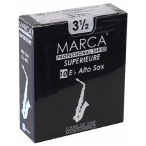 Marca Superieure - Professional Alto Saxophone Reeds (Box of 10) - 3 1/2