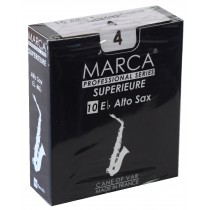 Marca Superieure - Professional Alto Saxophone Reeds (Box of 10) - 4