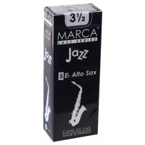 Marca Jazz Series - Alto Saxophone Reeds (Box of 5) - 3 1/2