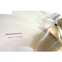 Meridian Studio Hammered Series - 14'' Hi-Hat Cymbal