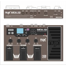 NUX EFFECTS PROCESSOR MFX-10