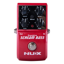 NUX SCREAM BASS PEDAL - OVERDRIVE