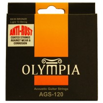 OLYMPIA 12 STRINGS ACOUSTIC  - COATED STRINGS