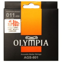 OLYMPIA ACOUSTIC STRINGS 11-50 COATED PACK