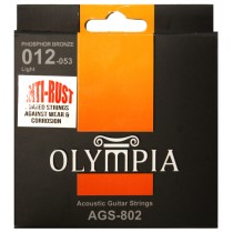 OLYMPIA ACOUSTIC STRINGS 12-53 COATED PACK