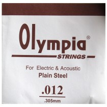 Z/ SINGLE .012 - 1 STRINGS ACOUSTIC or ELECTRIC