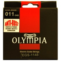OLYMPIA AN ELECTRIC STRINGS 11-48 COATED PACK