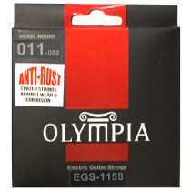 OLYMPIA AN ELECTRIC STRINGS 11-58 COATED PACK