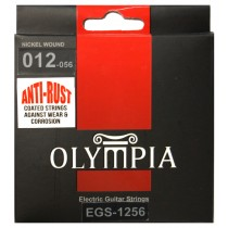 OLYMPIA AN ELECTRIC STRINGS 12-56 COATED PACK