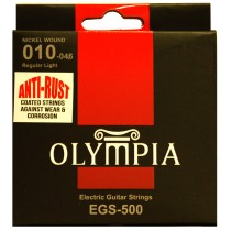 OLYMPIA AN ELECTRIC STRINGS 10-46 COATED PACK