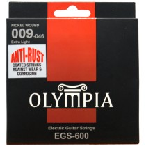 OLYMPIA AN ELECTRIC STRINGS 09-46 COATED PACK