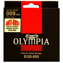 OLYMPIA AN ELECTRIC STRINGS 09-42 COATED PACK