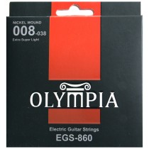 OLYMPIA AN ELECTRIC STRINGS 08-38 PACK