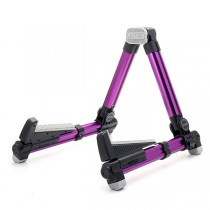AROMA AGS08 FOLDABLE GUITAR STAND IN PURPLE