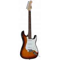 *NEW* TONE STRAT-TYPE ELECTRIC GUITAR IN 2-TONE SUNBURST
