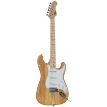 *NEW* TONE STRAT-TYPE ELECTRIC GUITAR - NATURAL