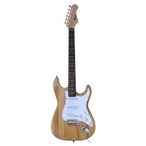 TONE STRAT-STYLE ELECTRIC GUITAR IN NATURAL