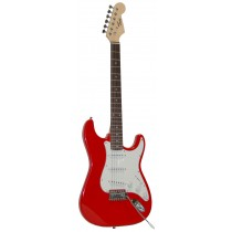 Tone Strat style Electric Guitar - Red
