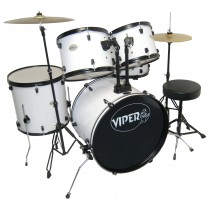 VIPER STUDENT DRUM SETS WHITE
