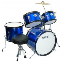 VIPER JR. DRUM SET METALLIC BLUE
