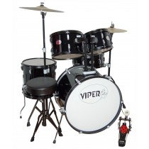 VIPER 3401 FULL SIZE DRUMSET IN BLACK