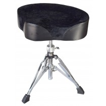 SUEDE TOP BIKE SEAT - DRUM THRONE