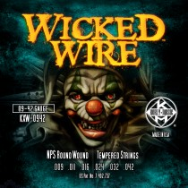 KERLY KUES - WICKED WIRE - NPS ROUND WOUND - KXW-0942
